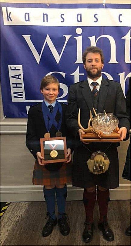Cameron Bonar and Alastair Lee - 2020 Winter Storm winners