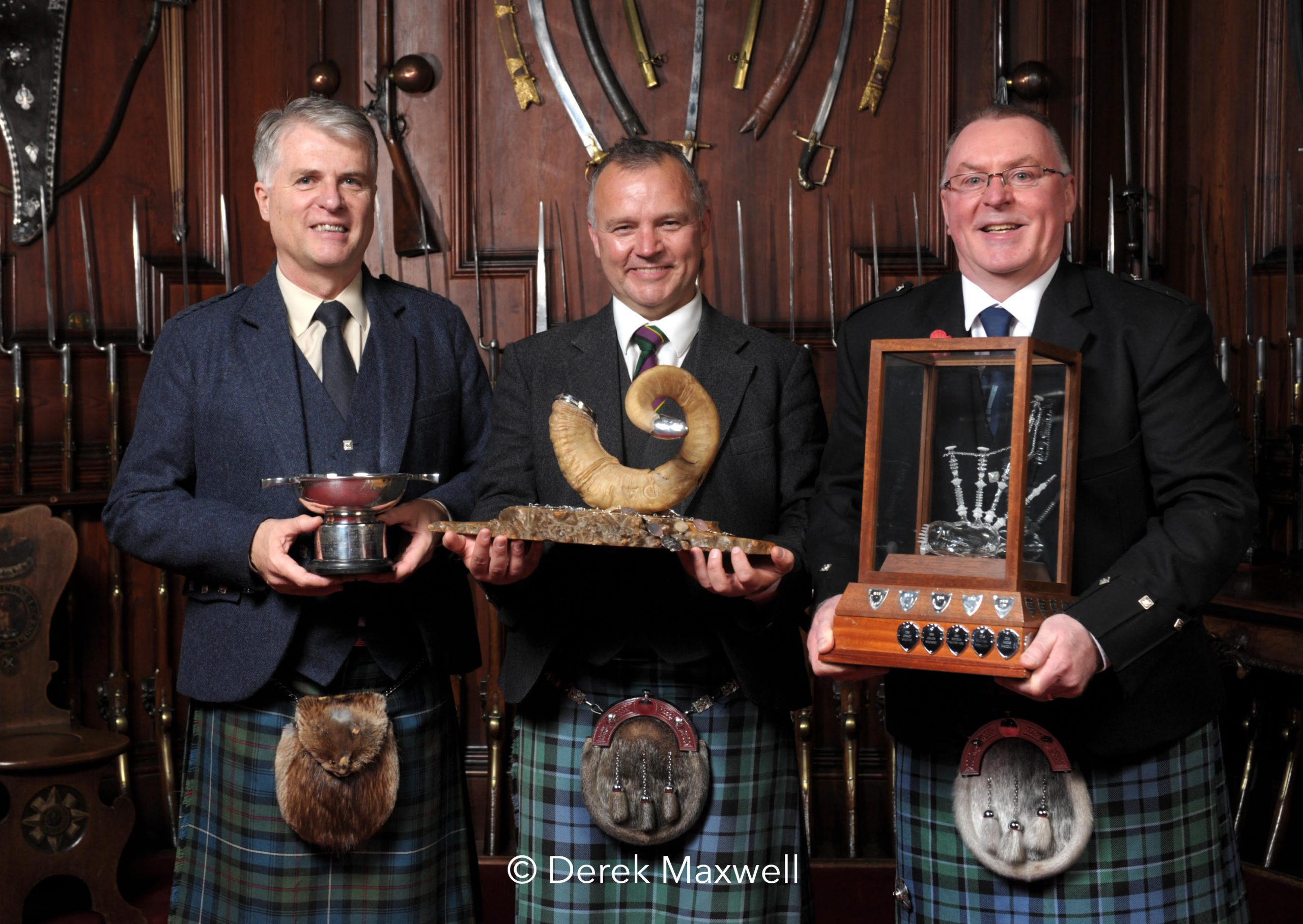 Jack Lee Stuart Liddell Willie McCallum - 2020 Glenfiddich Championship (credit Derek Maxwell)